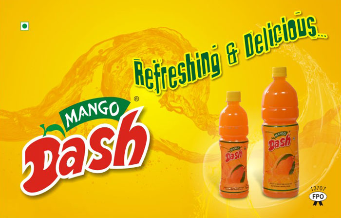 Mango Drink Promotional Sample